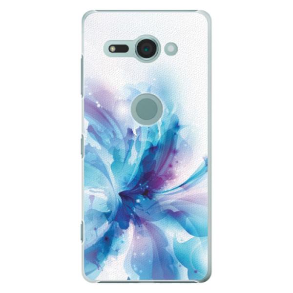 Plastové pouzdro iSaprio - Abstract Flower - Sony Xperia XZ2 Compact