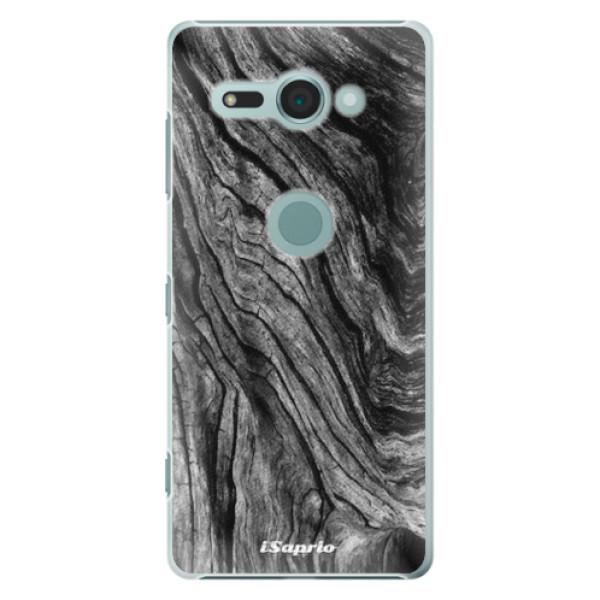 Plastové pouzdro iSaprio - Burned Wood - Sony Xperia XZ2 Compact