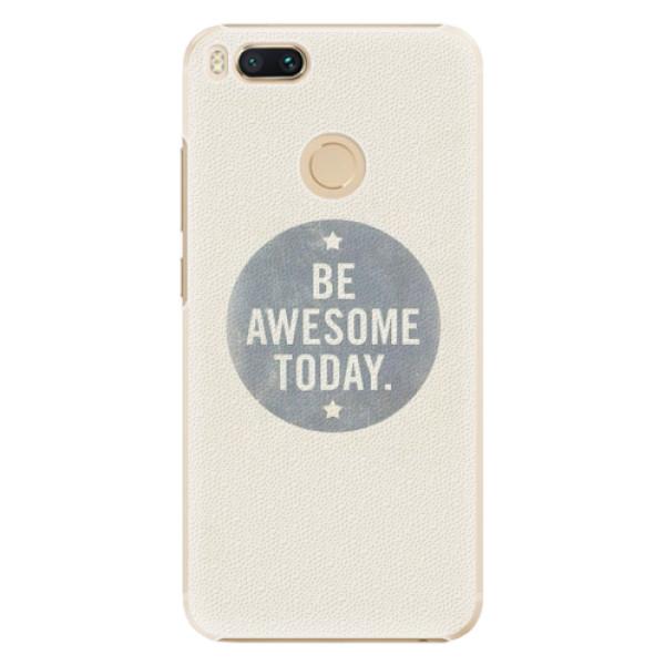 Plastové pouzdro iSaprio - Awesome 02 - Xiaomi Mi A1