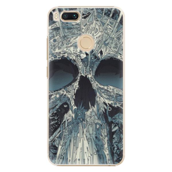 Plastové pouzdro iSaprio - Abstract Skull - Xiaomi Mi A1