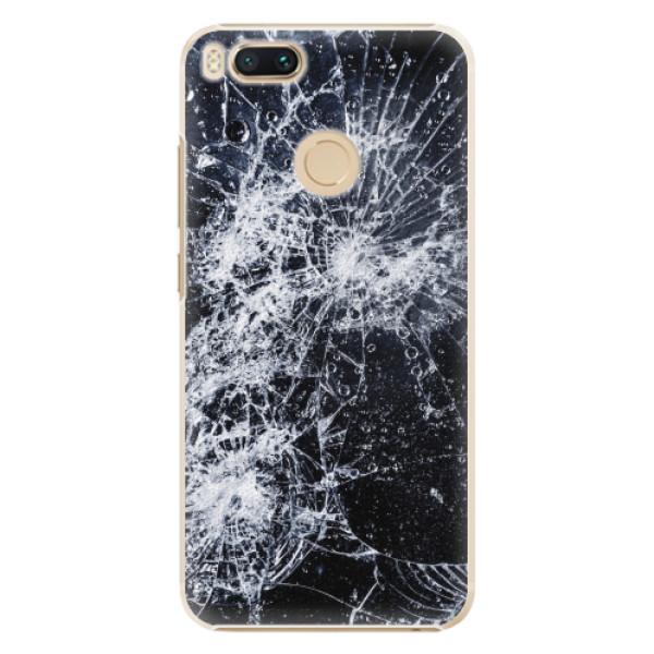 Plastové pouzdro iSaprio - Cracked - Xiaomi Mi A1