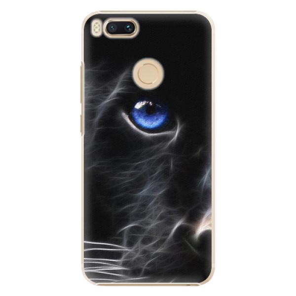 Plastové pouzdro iSaprio - Black Puma - Xiaomi Mi A1
