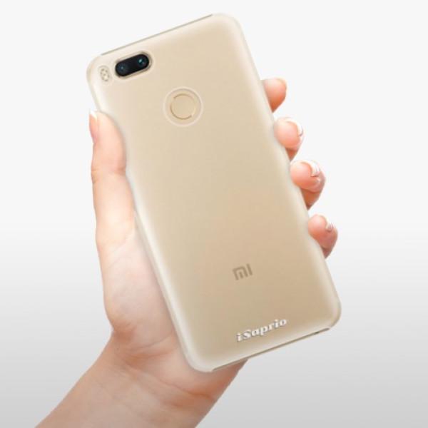 Plastové pouzdro iSaprio - 4Pure - mléčný bez potisku - Xiaomi Mi A1