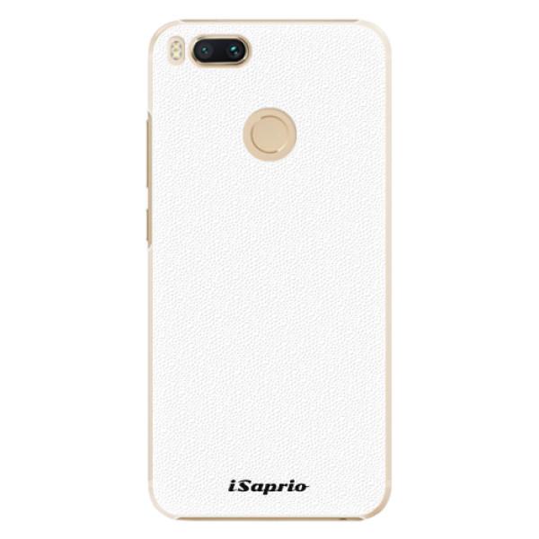 Plastové pouzdro iSaprio - 4Pure - bílý - Xiaomi Mi A1