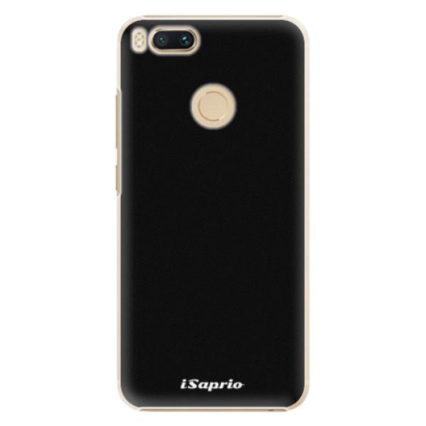 Plastové pouzdro iSaprio - 4Pure - černý - Xiaomi Mi A1