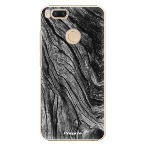 Plastové pouzdro iSaprio - Burned Wood - Xiaomi Mi A1