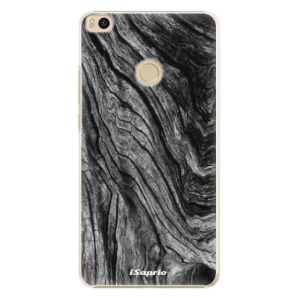 Plastové pouzdro iSaprio - Burned Wood - Xiaomi Mi Max 2