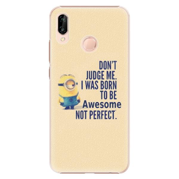 Plastové pouzdro iSaprio - Be Awesome - Huawei P20 Lite