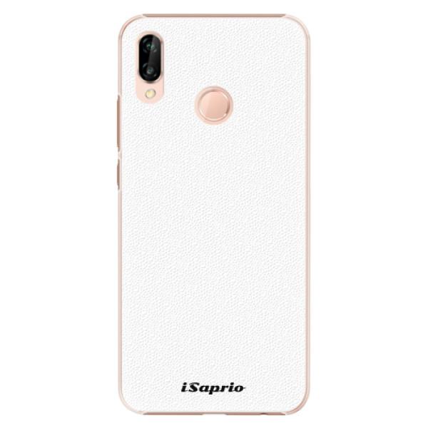 Plastové pouzdro iSaprio - 4Pure - bílý - Huawei P20 Lite