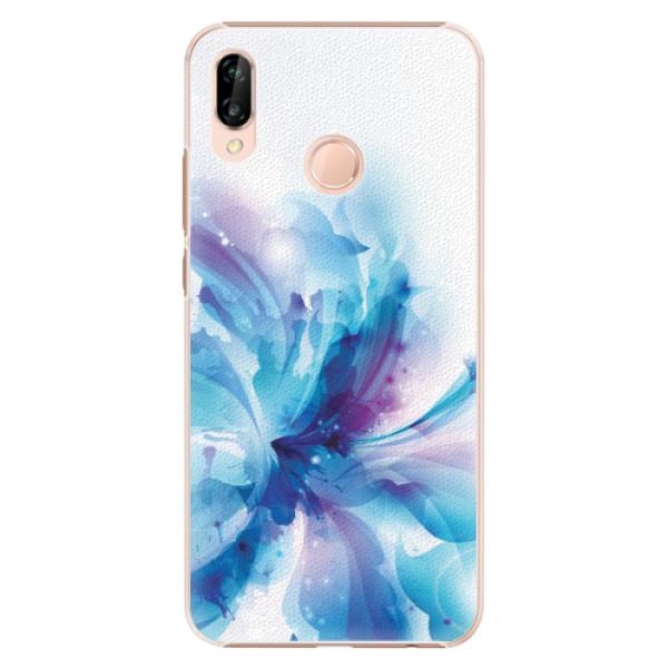 Plastové pouzdro iSaprio - Abstract Flower - Huawei P20 Lite