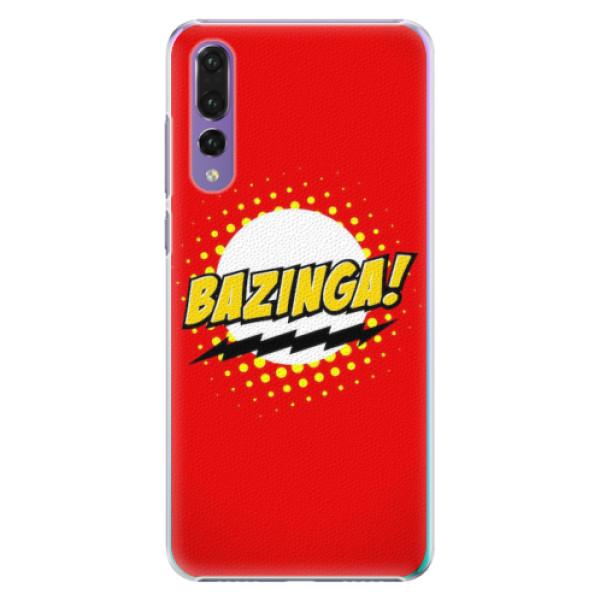 Plastové pouzdro iSaprio - Bazinga 01 - Huawei P20 Pro