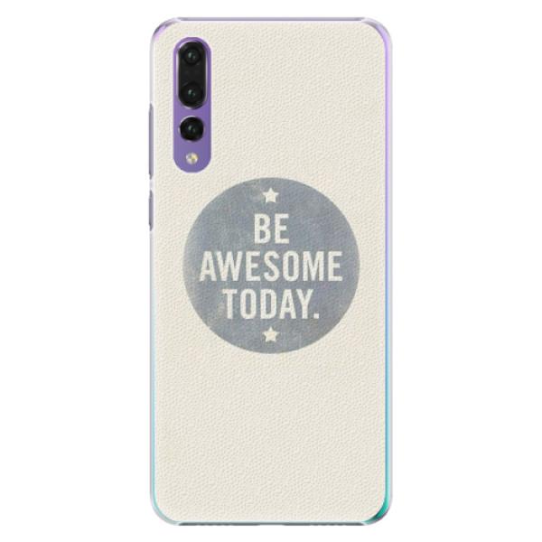 Plastové pouzdro iSaprio - Awesome 02 - Huawei P20 Pro