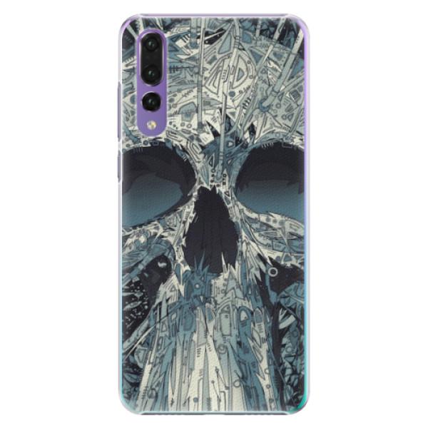 Plastové pouzdro iSaprio - Abstract Skull - Huawei P20 Pro