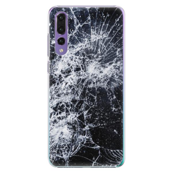 Plastové pouzdro iSaprio - Cracked - Huawei P20 Pro