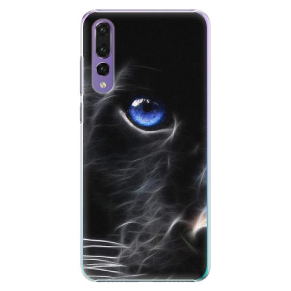 Plastové pouzdro iSaprio - Black Puma - Huawei P20 Pro