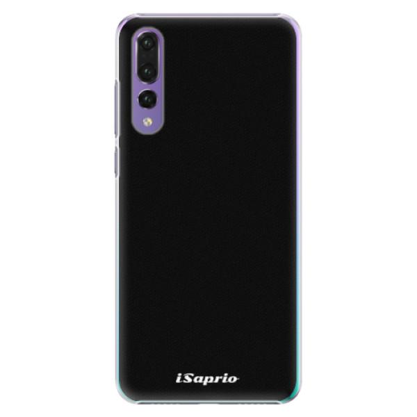 Plastové pouzdro iSaprio - 4Pure - černý - Huawei P20 Pro