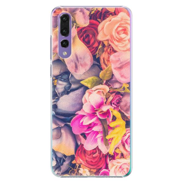 Plastové pouzdro iSaprio - Beauty Flowers - Huawei P20 Pro