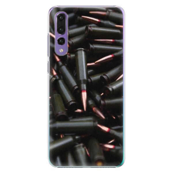 Plastové pouzdro iSaprio - Black Bullet - Huawei P20 Pro