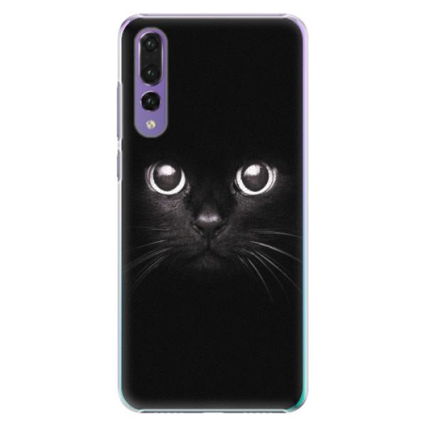 Plastové pouzdro iSaprio - Black Cat - Huawei P20 Pro