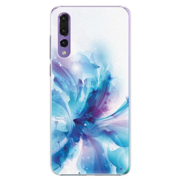 Plastové pouzdro iSaprio - Abstract Flower - Huawei P20 Pro