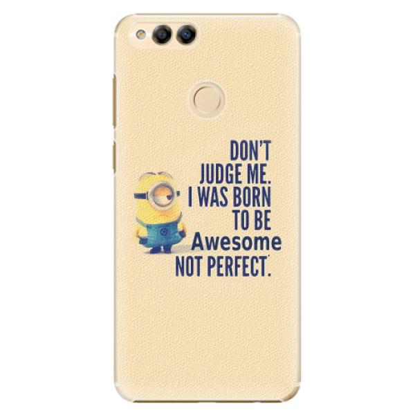 Plastové pouzdro iSaprio - Be Awesome - Huawei Honor 7X