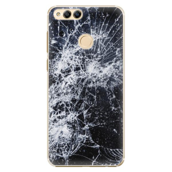 Plastové pouzdro iSaprio - Cracked - Huawei Honor 7X