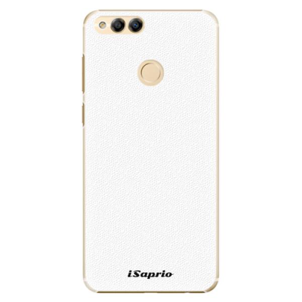 Plastové pouzdro iSaprio - 4Pure - bílý - Huawei Honor 7X