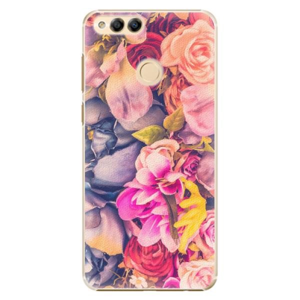 Plastové pouzdro iSaprio - Beauty Flowers - Huawei Honor 7X