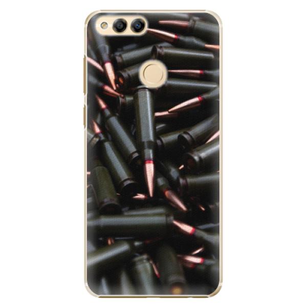 Plastové pouzdro iSaprio - Black Bullet - Huawei Honor 7X