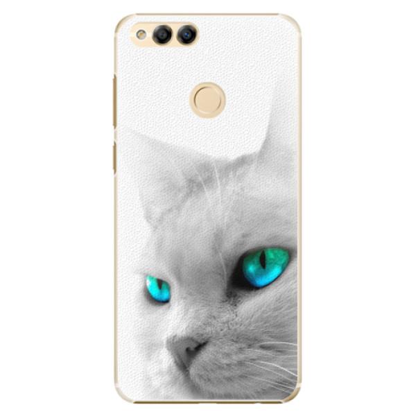 Plastové pouzdro iSaprio - Cats Eyes - Huawei Honor 7X