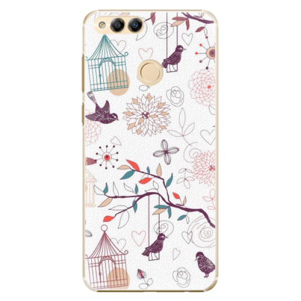 Plastové pouzdro iSaprio - Birds - Huawei Honor 7X