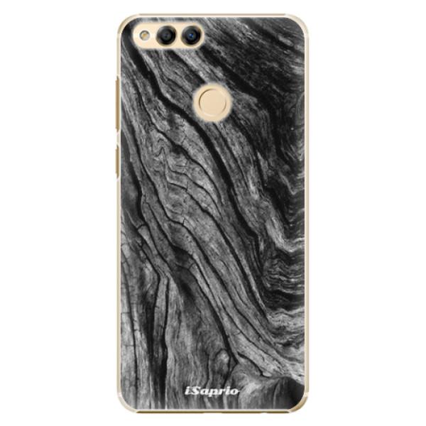 Plastové pouzdro iSaprio - Burned Wood - Huawei Honor 7X
