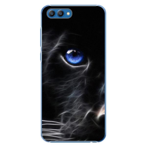 Plastové pouzdro iSaprio - Black Puma - Huawei Honor View 10