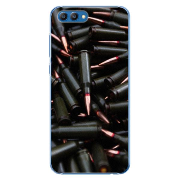 Plastové pouzdro iSaprio - Black Bullet - Huawei Honor View 10