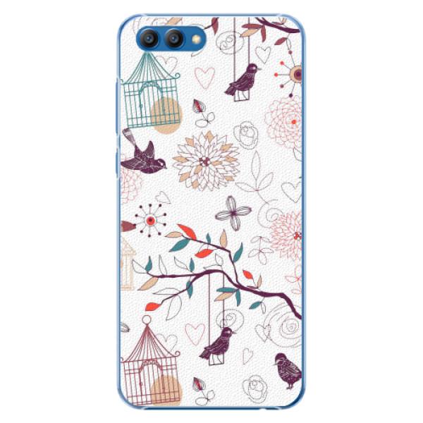 Plastové pouzdro iSaprio - Birds - Huawei Honor View 10