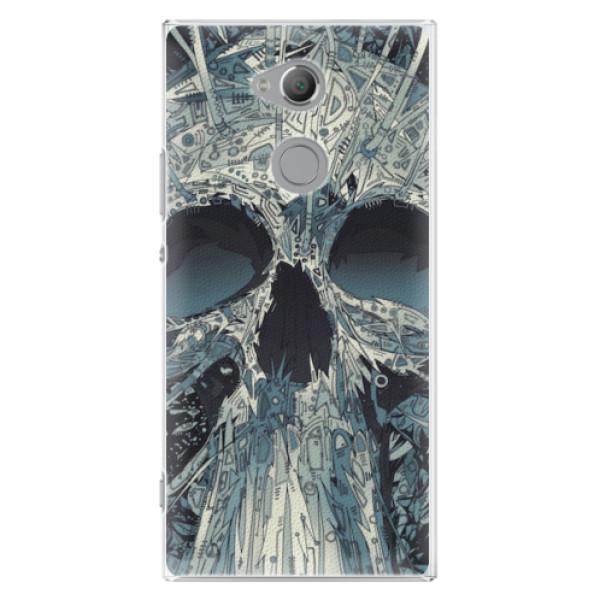 Plastové pouzdro iSaprio - Abstract Skull - Sony Xperia XA2 Ultra