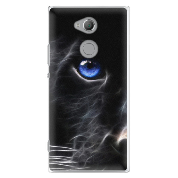 Plastové pouzdro iSaprio - Black Puma - Sony Xperia XA2 Ultra