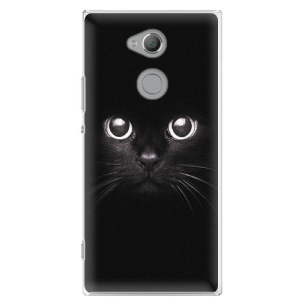 Plastové pouzdro iSaprio - Black Cat - Sony Xperia XA2 Ultra