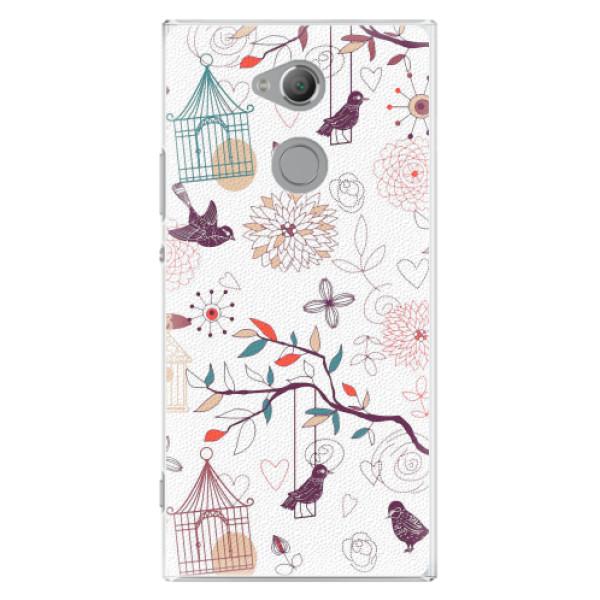 Plastové pouzdro iSaprio - Birds - Sony Xperia XA2 Ultra