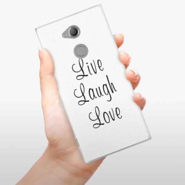 Plastové pouzdro iSaprio - Live Laugh Love - Sony Xperia XA2 Ultra