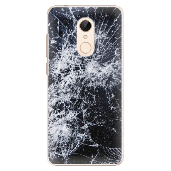 Plastové pouzdro iSaprio - Cracked - Xiaomi Redmi 5