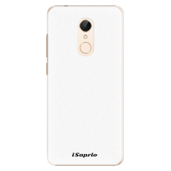 Plastové pouzdro iSaprio - 4Pure - bílý - Xiaomi Redmi 5