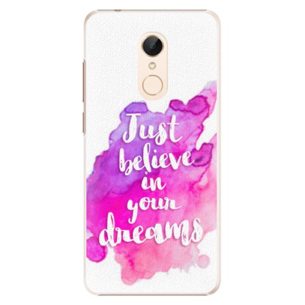 Plastové pouzdro iSaprio - Believe - Xiaomi Redmi 5