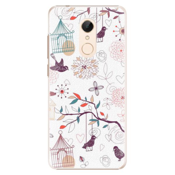 Plastové pouzdro iSaprio - Birds - Xiaomi Redmi 5