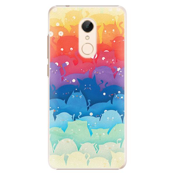 Plastové pouzdro iSaprio - Cats World - Xiaomi Redmi 5