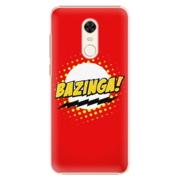 Plastové pouzdro iSaprio - Bazinga 01 - Xiaomi Redmi 5 Plus