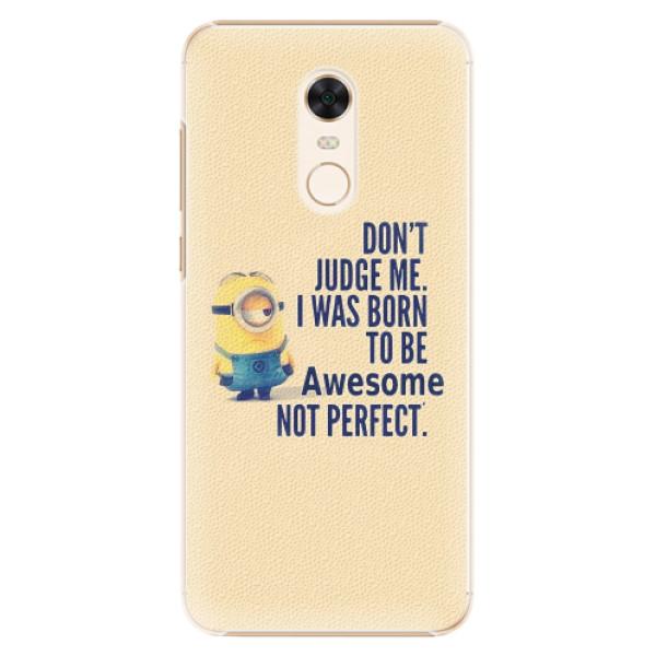 Plastové pouzdro iSaprio - Be Awesome - Xiaomi Redmi 5 Plus