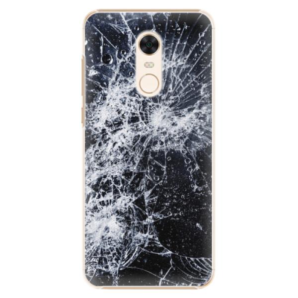 Plastové pouzdro iSaprio - Cracked - Xiaomi Redmi 5 Plus