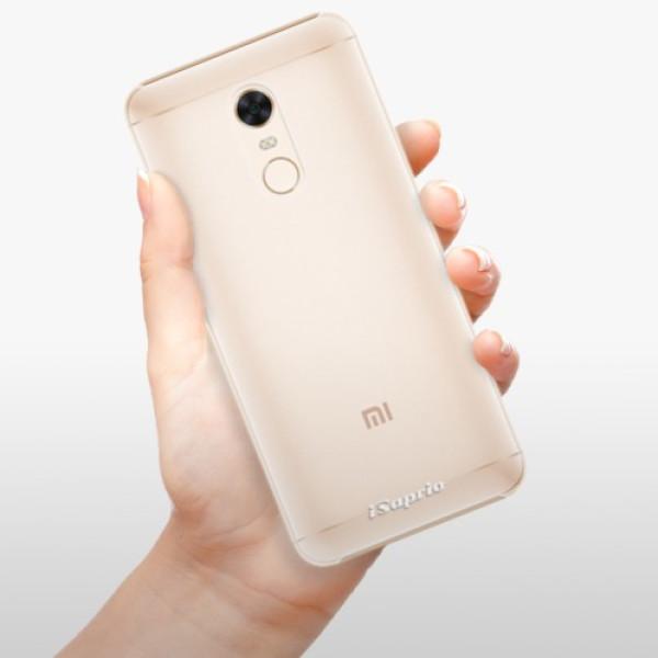 Plastové pouzdro iSaprio - 4Pure - mléčný bez potisku - Xiaomi Redmi 5 Plus