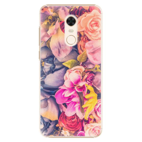 Plastové pouzdro iSaprio - Beauty Flowers - Xiaomi Redmi 5 Plus